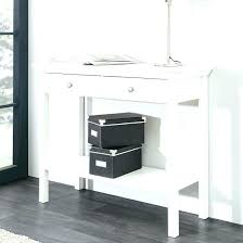 white console table with drawer. White Console Table With Storage Admin Drawer L