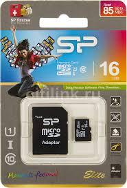 Купить <b>Карта памяти</b> microSDHC UHS-I <b>SILICON</b> POWER 16 ГБ в ...
