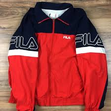 fila vintage jacket. vintage fila jacket size xl j