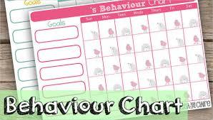 Free Behavior Charts 9 Free Pdf Psd Documents Download