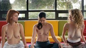 Dani Kind nude Catherine Reitman and Juno Rinaldi nude topless.