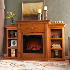 tennyson electric fireplace oak electric fireplace with bookcase southern enterprises tennyson electric fireplace