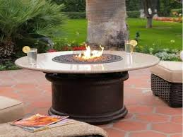 round propane fire pit table canada costco canadian tire round propane fire