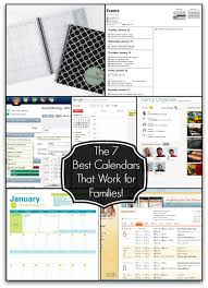 more calendars the 7 best calendars that work for families momof6