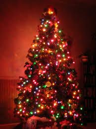 white christmas tree lights wallpaper. Unique Lights Animated Christmas Tree In White Lights Wallpaper T