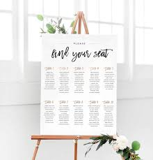 Seating Chart Wedding Custom Seating Charts Now Available My Party Queen