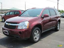 2008 Deep Ruby Red Metallic Chevrolet Equinox LT AWD #32467290 ...
