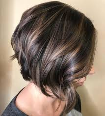 Side Parted Angled Bob With Polished