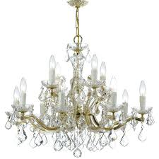 house of light crystal chandelier reviews throughout 12 light chandelier plans luciana 12 light crystal chandelier