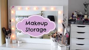my makeup collection and makeup storage ideas
