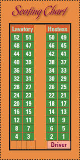 Chart A Bus Eastern Travel Oneonta Bus Lines Resources View Seating