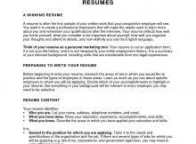 72 Sample Resume Summary Examples For Students For Simple Step