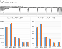 Business Plan Spreadsheet Template Excel Download Free
