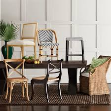 Parisian Bistro Woven Side Chair Williams Sonoma Awesome Woven Dining Room Chairs