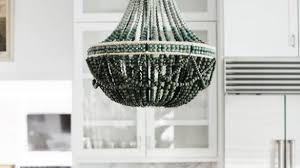 wood bead chandelier incredible african wooden pfeifer studio with 8