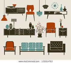 retro home furniture. Retro Furniture And Home Accessories, Including Coffee Table, Side Tables, Armchairs Chandeliers