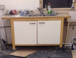 ikea varde freestanding kitchen sink unit with tap and waste in free standing kitchen sink