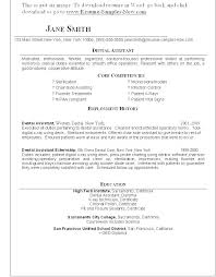 Dental Office Resume Magnificent Orthodontic Technician Resume Orthodontist Working Conditions Job