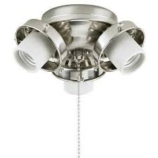 ... Materials Interesting Functionally Brightness Stainless Metal Ceiling Fan  Light Fixtures High Quality Limited Editions Painted ...