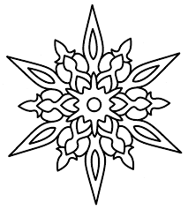 Small Picture Christmas Snowflake Coloring Pages Happy Holidays