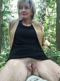Old nasty amateur granny
