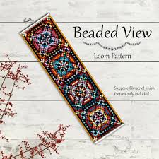 Bead Loom Patterns Adorable Bead Loom Pattern Loom Bead Pattern Loom Bracelet Pattern Etsy
