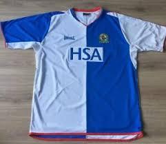 Blackburn rovers, que jugará una temporada más en la championship (segunda división de inglaterra), ha presentado hoy su nueva camiseta local de la mano de su sponsor técnico, umbro. Blackburn Rovers Shirt Original 2004 2005 Home Kit Lonsdale Size Xl Brfc Hsa Ebay