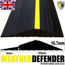 genuine wd weather defender garage door floor seal draught excluder adhesive