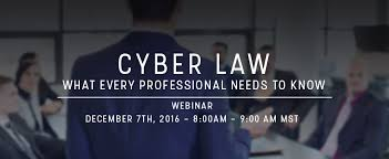 Cyber Law Cyber Law What Every Professional Needs To Know Ec Council