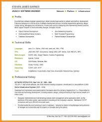 2 3 Software Engineering Resume Template Wear2014 Com