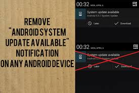 How To Remove OR Disable Android System Update Available ...