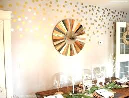 gold polka dot wall decals inch vinyl rose 1 nursery decor d decal modern in gold polka dot wall decals