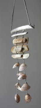 Driftwood Sea Shell Mobile Beach Wind Chime