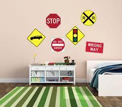 Traffic Sign Wall Decor