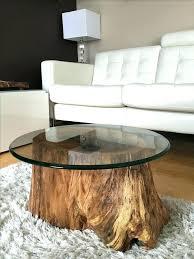 coffee table wood stump coffee tables best tree trunk table ideas on tree table tree