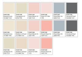 Whites Pantone Colour Pallete Pastel Palette