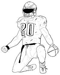 free coloring pages football coloring pages free coloring pages color pages football player coloring pages 7