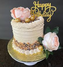 Catered Cakes - Rich butterscotch and chocolate chip cake ...