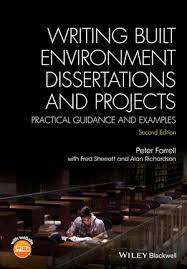 Wiley Writing Built Environment Dissertations and Projects Wiley Writing Built Environment Dissertations and Projects Practical Guidance and Examples nd     FAMU Online