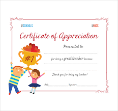 Congratulations Certificates Templates Sample Thank You Certificate Template 10 Documents