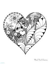 Coloriage Mandala Ethnique Fleur Et Coeur Inspirational Coloriage