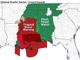 Hurricane Ida Prompts Flash Flood Watch ...