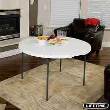 lifetime 48 4ft round fold in half commercial table