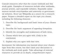 3 5 Essay Format Solved 3 5 Page Essay In Text Citations Apa Format Cit
