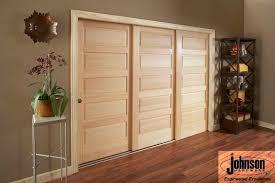 3 door sliding multi p pocket door installation johnson hardware used 100md sliding multi p door hardware here for details