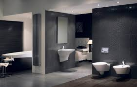 awesome best bathrooms design ideas featuring stunning black flourish pattern wall tile and glossy unique white beautiful beautiful bathroom lighting ideas tags
