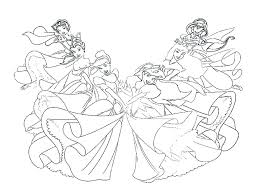 coloring pages of princesses in disney coloring pages coloring pages coloring free coloring pages of all