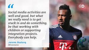 Jérôme boateng (@jeromeboateng) on tiktok | 487.5k likes. Bayern Munich S Jerome Boateng No Child Is Born A Racist Sports German Football And Major International Sports News Dw 04 06 2020