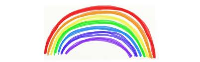 Het maakt ons niks uit welke kleuren je jouw regenboog geeft. Regenboog Kleurplaten Topkleurplaat Nl