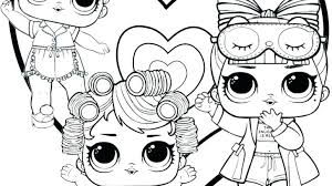 Lol Doll Colouring Pages Luxe Surprise Doll Coloring Page Coloring